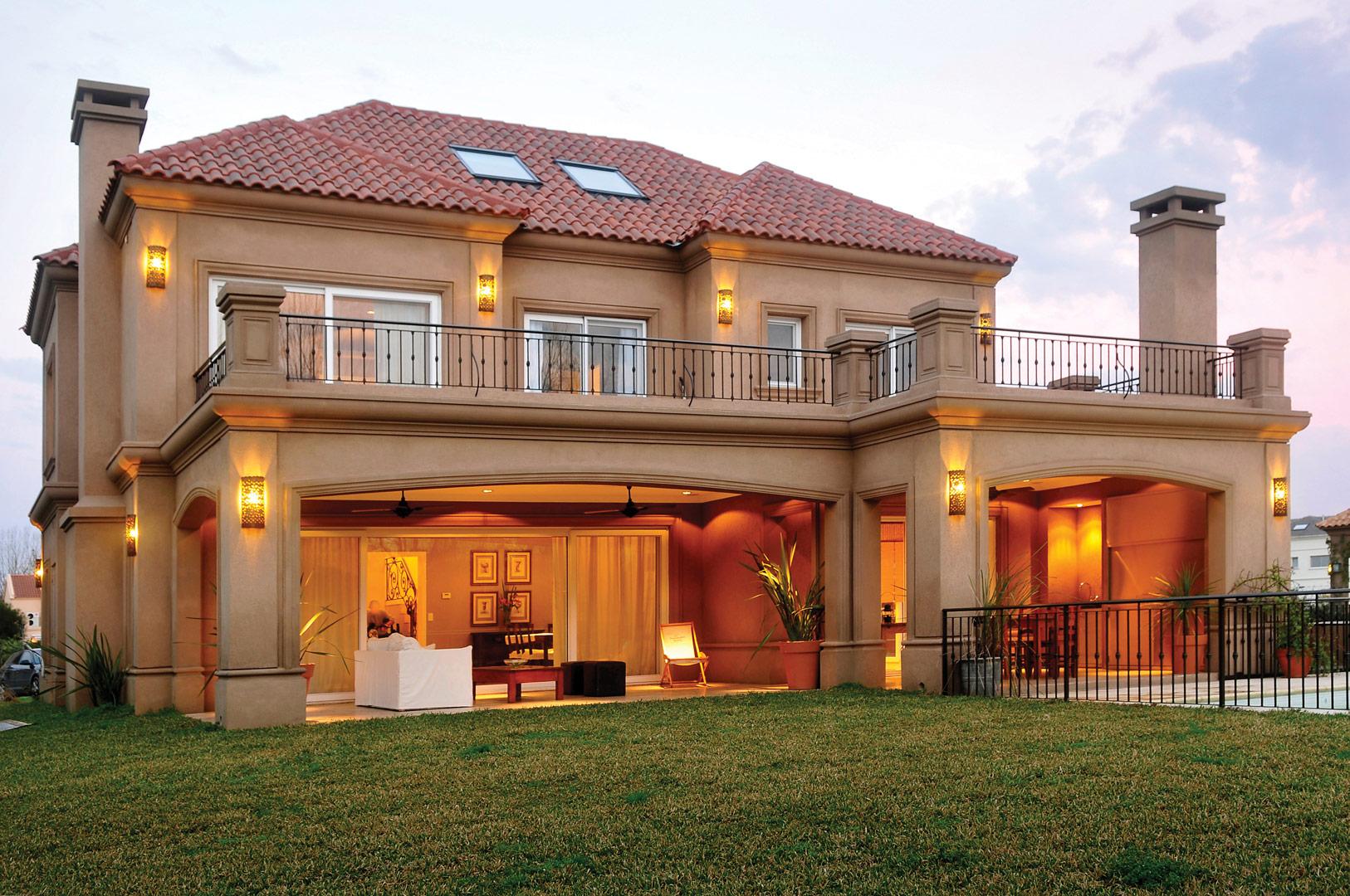 Fern ndez borda arquitectura casa estilo cl sico Casa y ideas