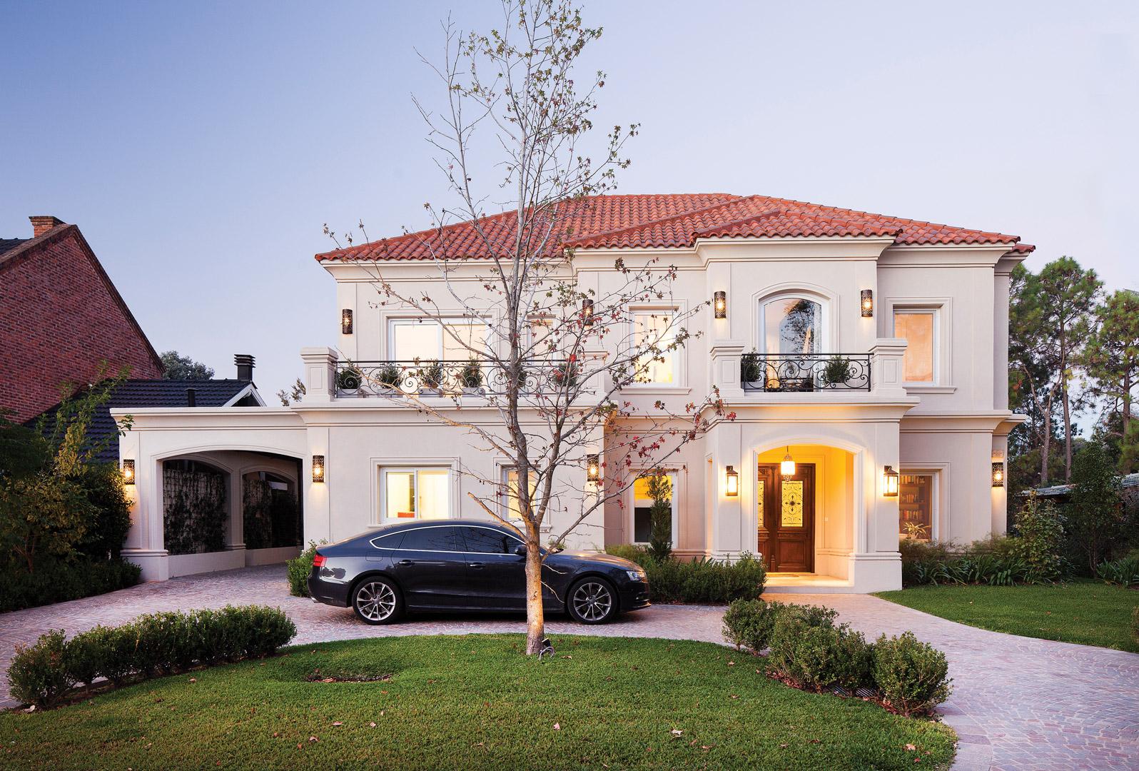 F rnandez borda arquitectura casa estilo cl sico for Estilos de casas arquitectura