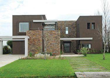 Estudio gamboa casa estilo actual racionalista arquitecto arquitectos Frentes de casas con piedras