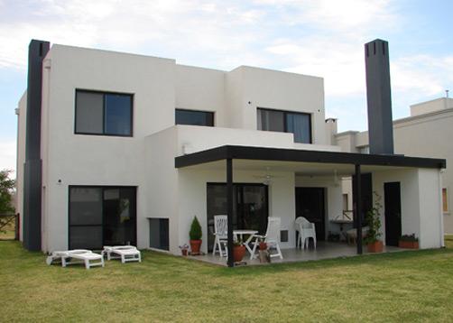 Fredi llosa y arquinova casas casa estilo actual for Arquitectura racionalista