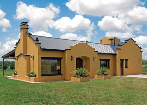 Casa de chacra for Casas modernas estilo campo