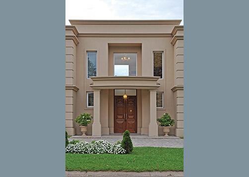 Pavloff regalini asociados estudio de arquitectura for Casas estilo clasico moderno