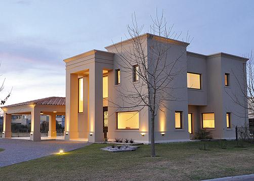 Arquitecto daniel tarr o y asociados casa est lo cl sico for Casas clasicas modernas