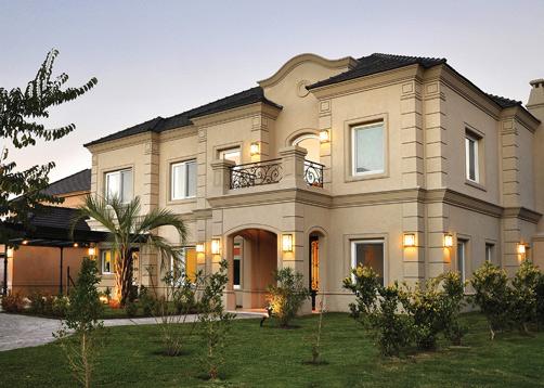 Fern ndez borda arquitectura casa estilo cl sico for Fachada de la casa clasica