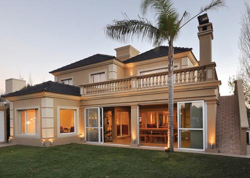 Pavloff regalini asociados estudio de arquitectura casa estilo cl sico arquitecto - Casas clasicas modernas ...