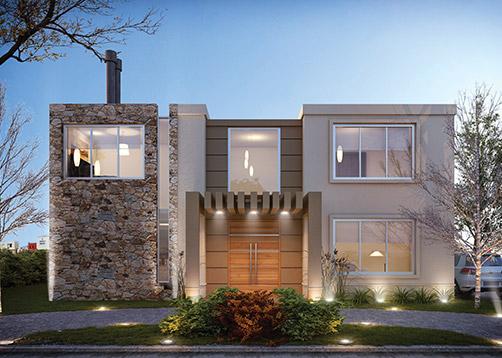 Estudio nf y asociados casa estilo actual arquitecto for Casa de arquitecto moderno