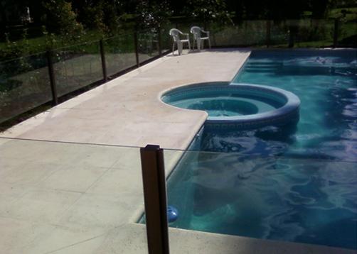 Color de agua estilo caribe portal de arquitectos for Solados para piscinas