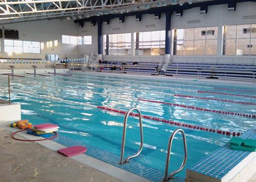 Universidad de la matanza portal de arquitectos for Solados para piscinas