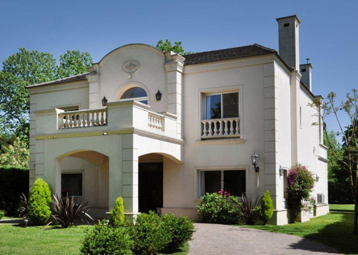 Vidal bianchi arquitectura casa estilo cl sico moderno Casa clasica moderna