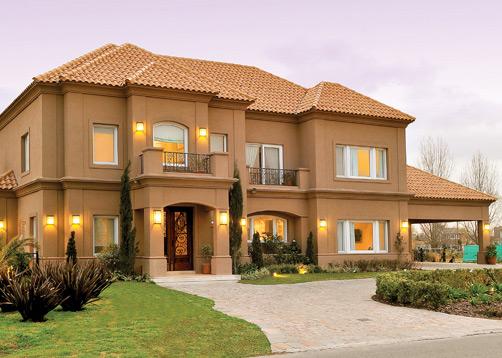 Fern ndez borda arquitectura casa estilo actual for Interiores de casas clasicas