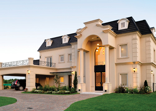 Fern ndez borda arquitectura casa estilo cl sico for Casa clasica country