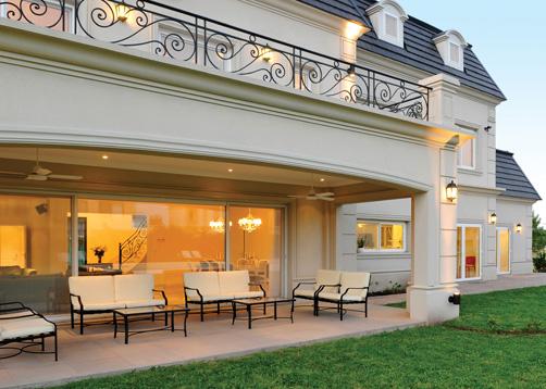 Fern ndez borda arquitectura casa estilo cl sico for Casas estilo frances clasico