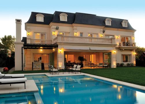 Fern ndez borda arquitectura casa estilo cl sico franc s for Casa de arquitecto moderno