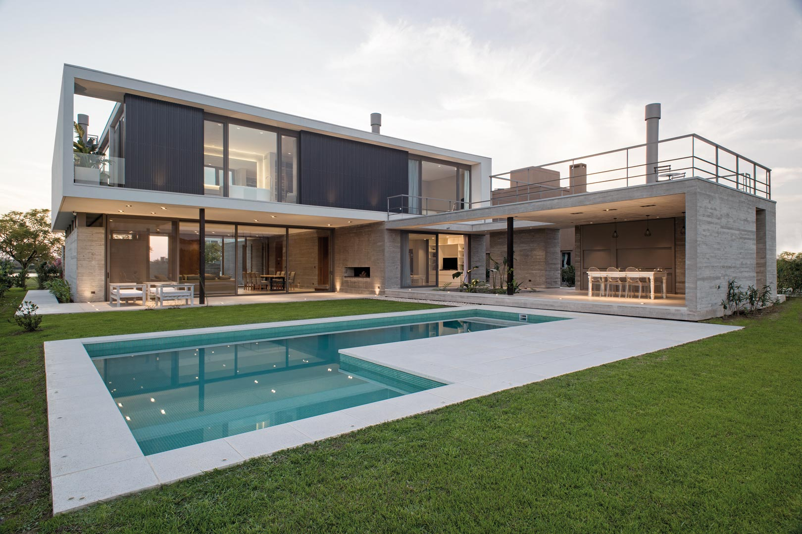 Amado cattaneo arquitectos casa racionalista portal de arquitectos - Arquitectos casas modernas ...