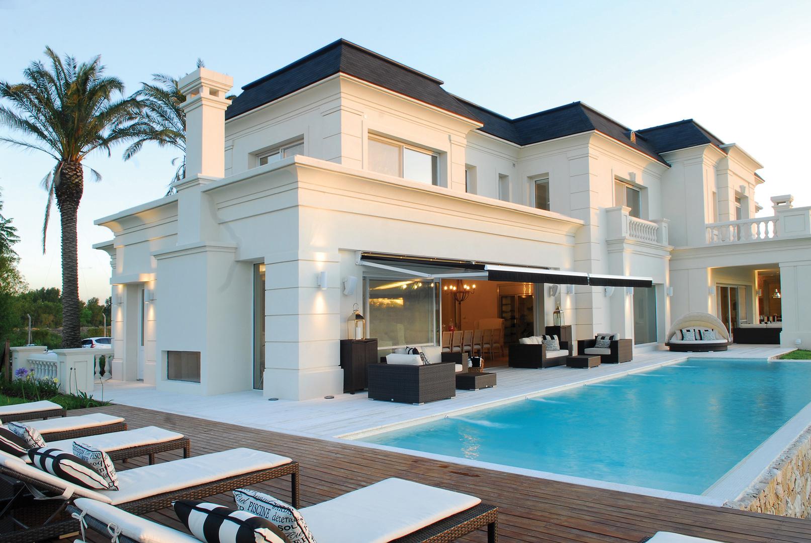 Apa arquitectura casa estilo cl sico franc s for Arquitectura departamentos modernos