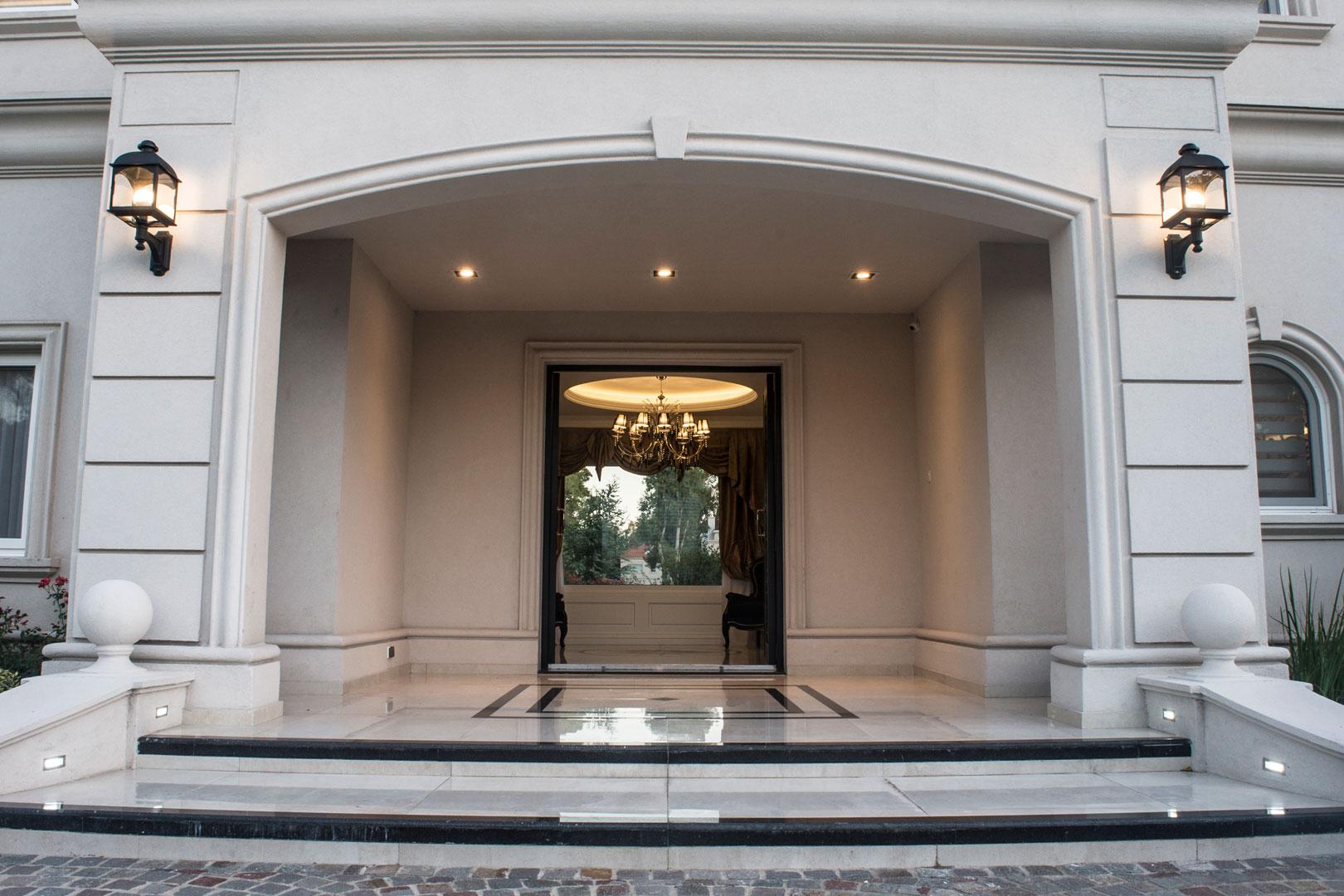 Estudio a r arquitectos casa estilo cl sico franc s - Estudio de arquitectos ...