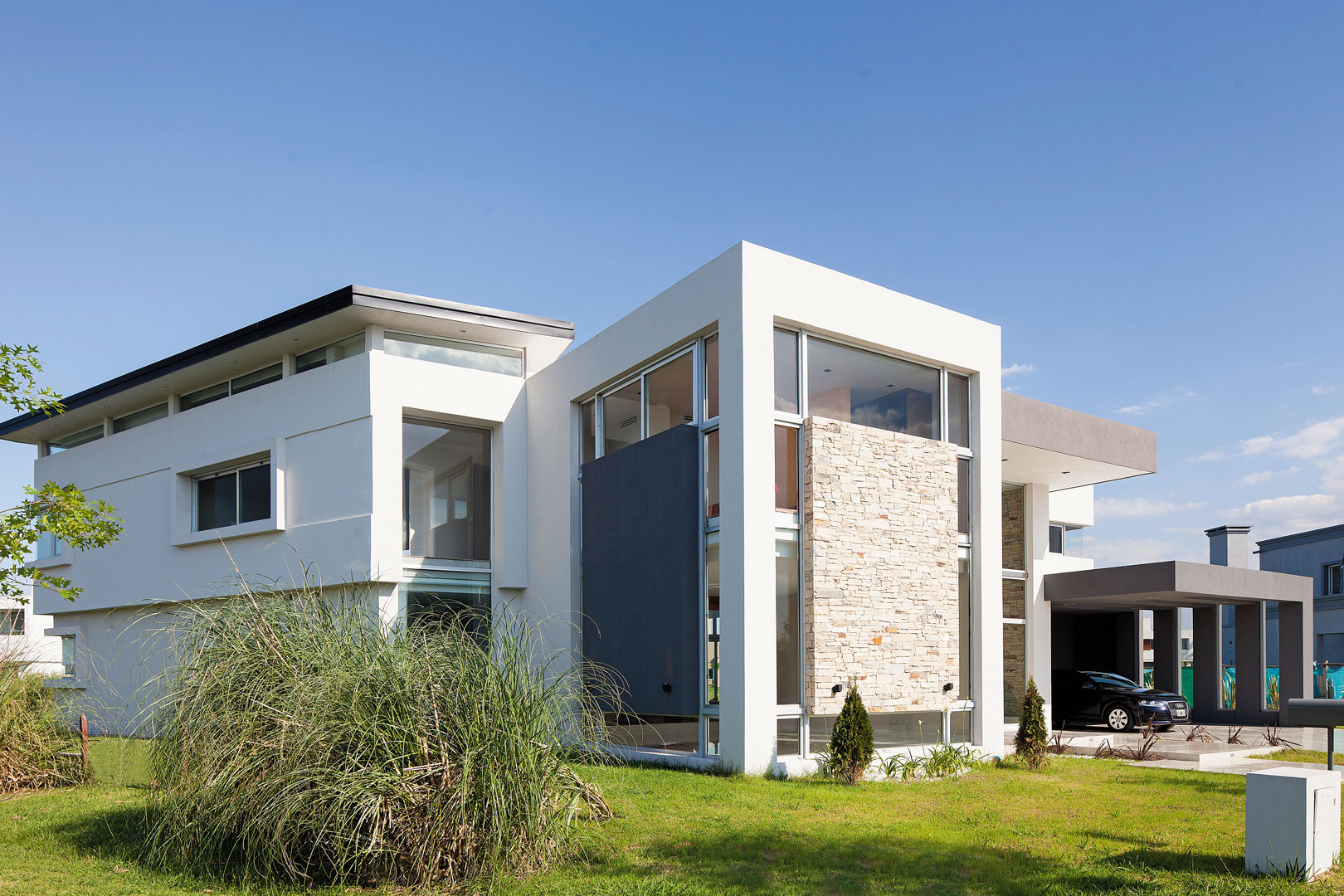 Estudio a r arquitectos casa js moderna portal de - Estudio 3 arquitectos ...