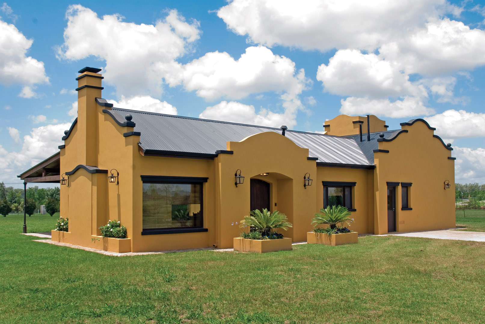 Casa de chacra portal de arquitectos for Estilos de casas arquitectura
