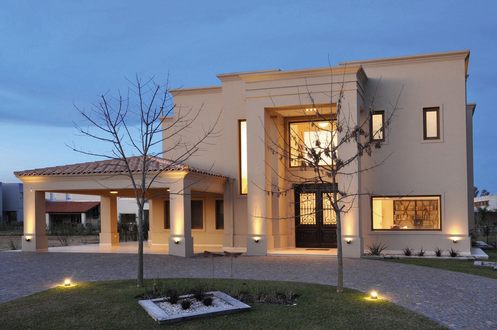 Arquitecto daniel tarr o y asociados casa est lo cl sico - Estudio 3 arquitectos ...
