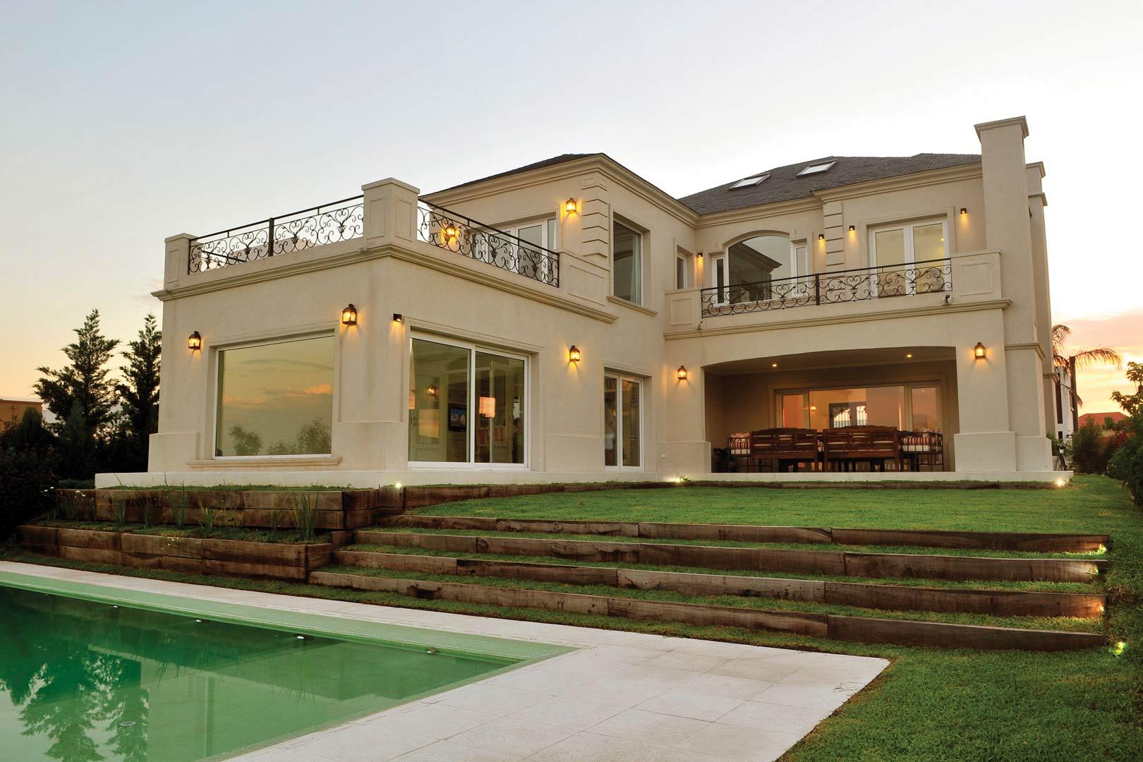 Estudio ciba arquitectura casa estilo cl sico ii for Estilos de casas arquitectura