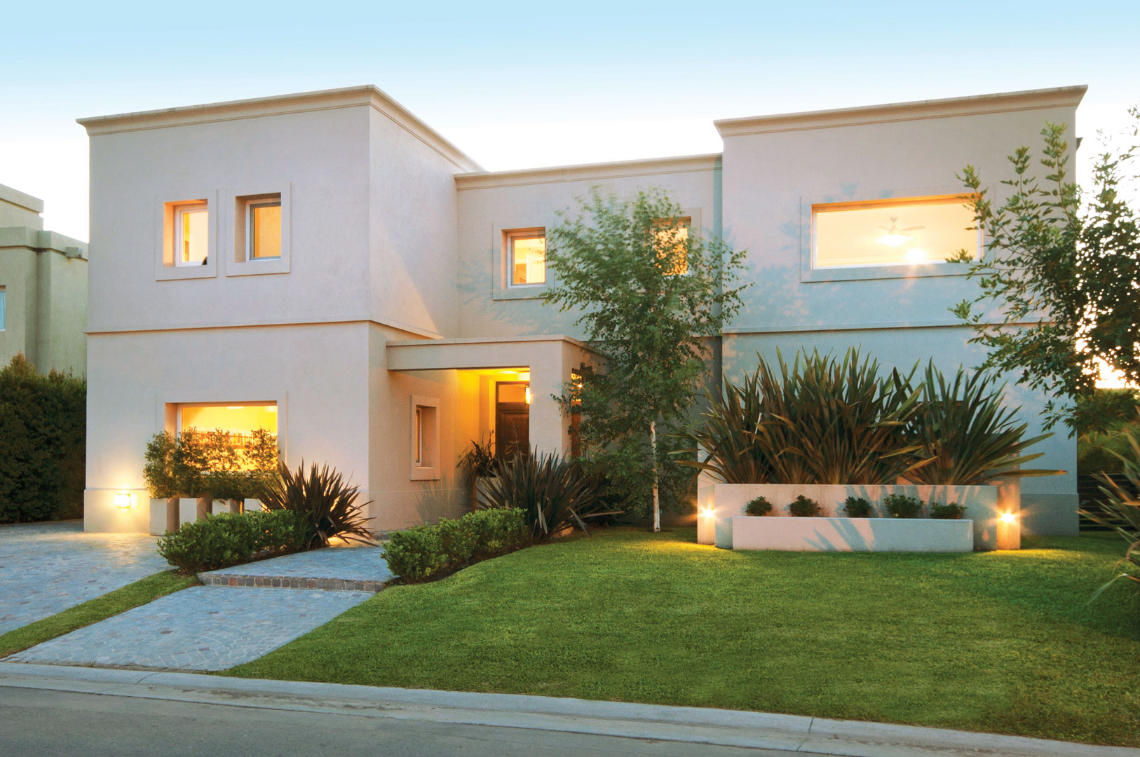 Estudio clari arquitectura casa estilo actual portal - Estudios de arquitectura en cordoba ...