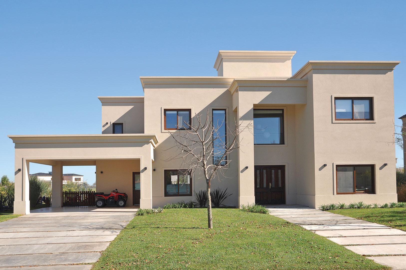 Estudio farina vazzano casa 6 neocl sica portal de arquitectos - Casas clasicas modernas ...