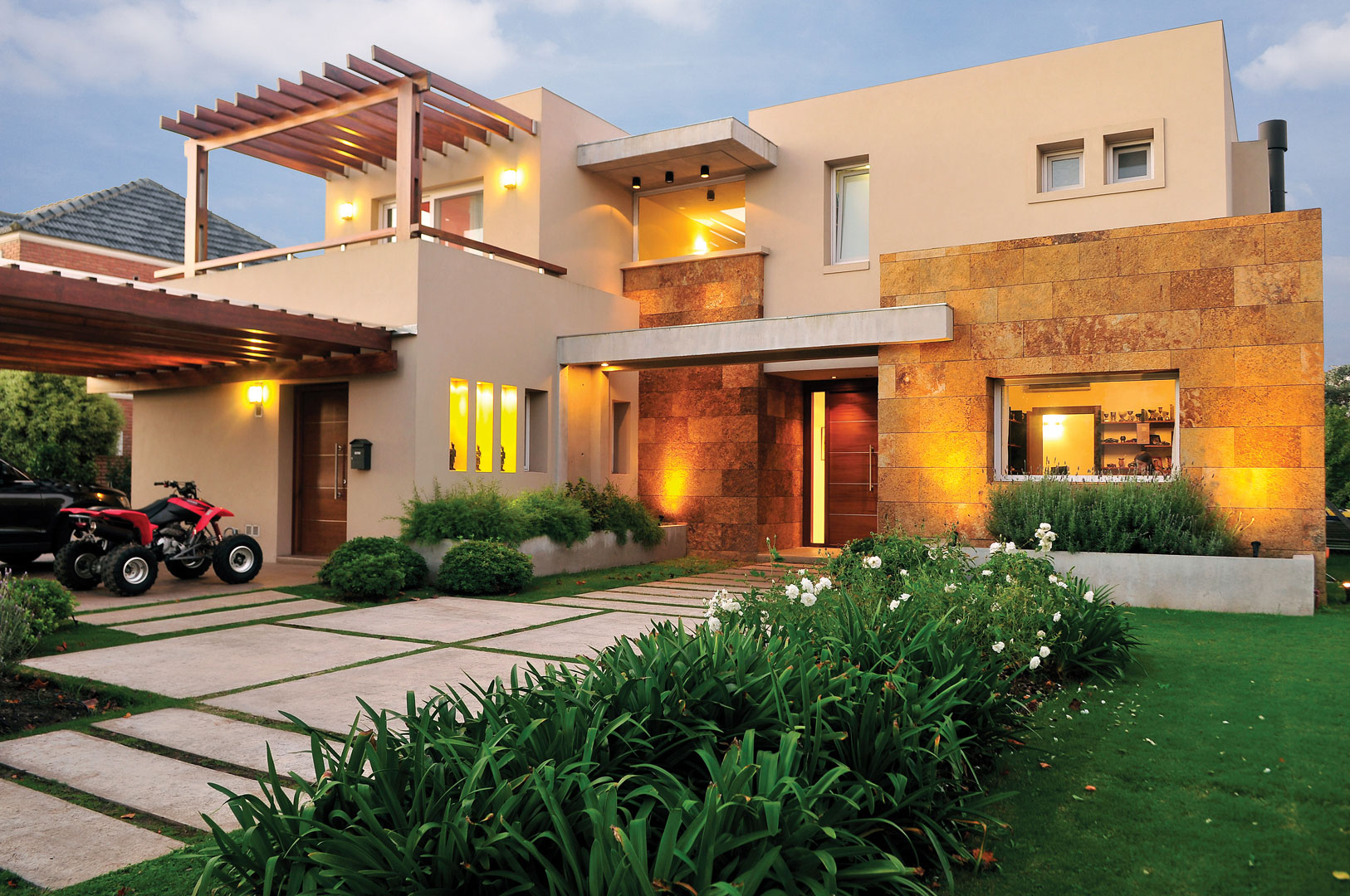 Estudio gamboa casa estilo moderno portal de arquitectos for Casa de arquitecto moderno