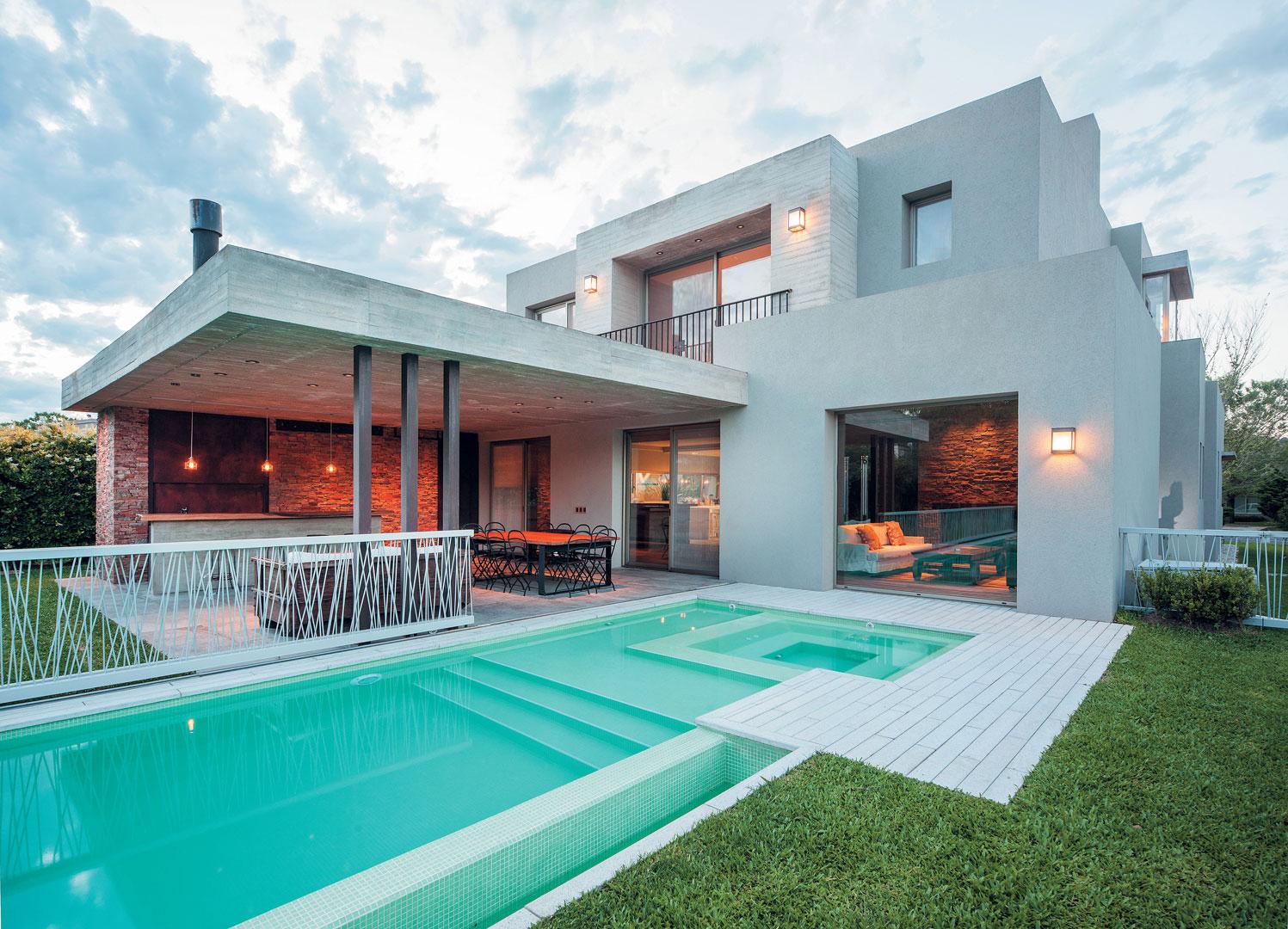 Estudio gamboa casa estilo moderno portal de arquitectos - Estudio de arquitectos ...
