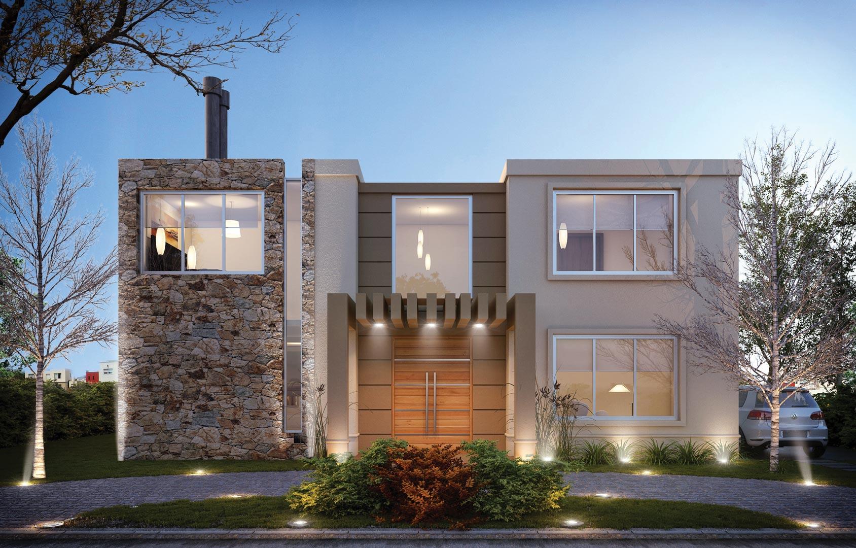 Galeria fotos estudio nf y asociados casa estilo for Casa de arquitecto moderno