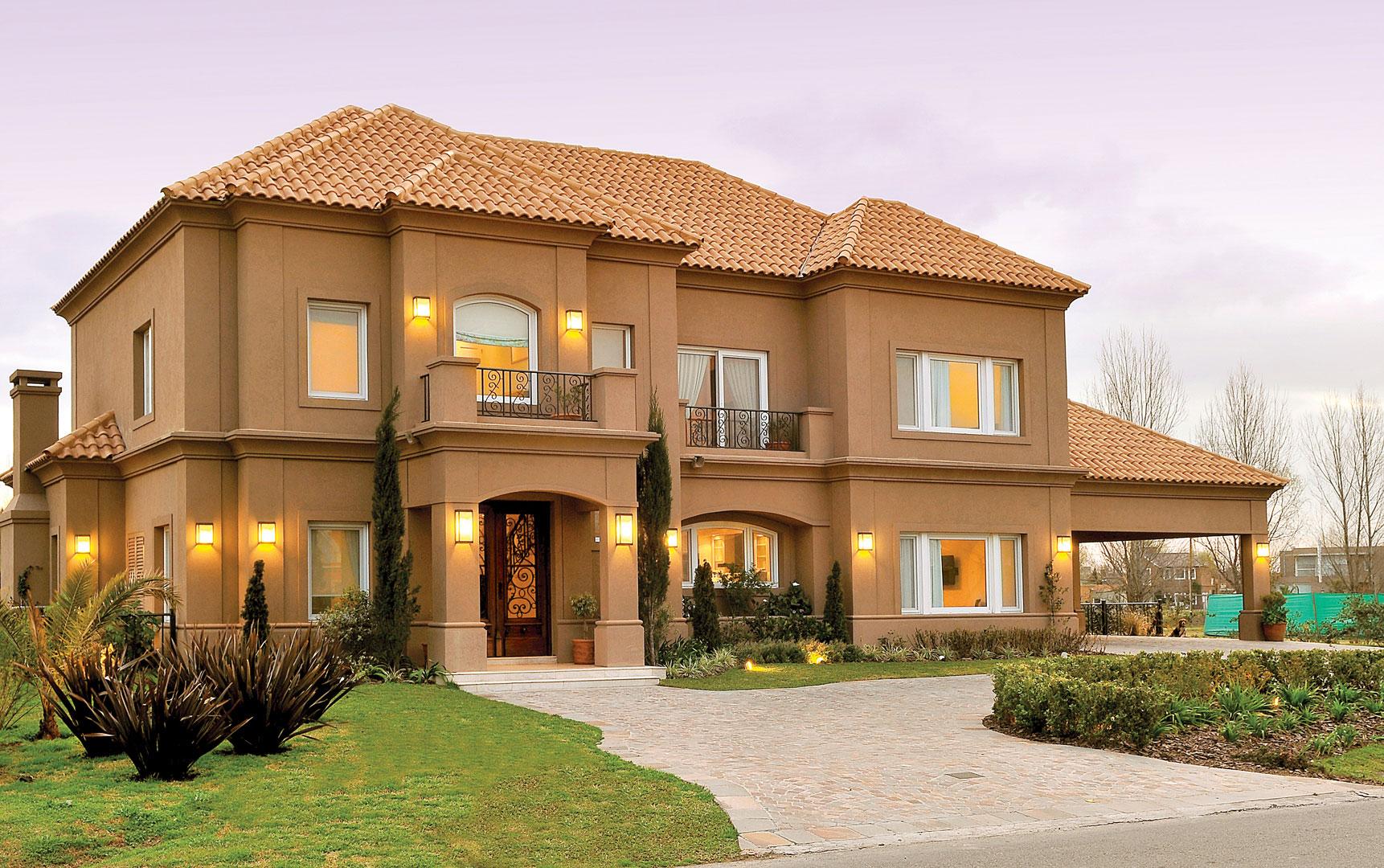 Fern ndez borda arquitectura casa 9 cl sica portal de for Casa clasica moderna interiores