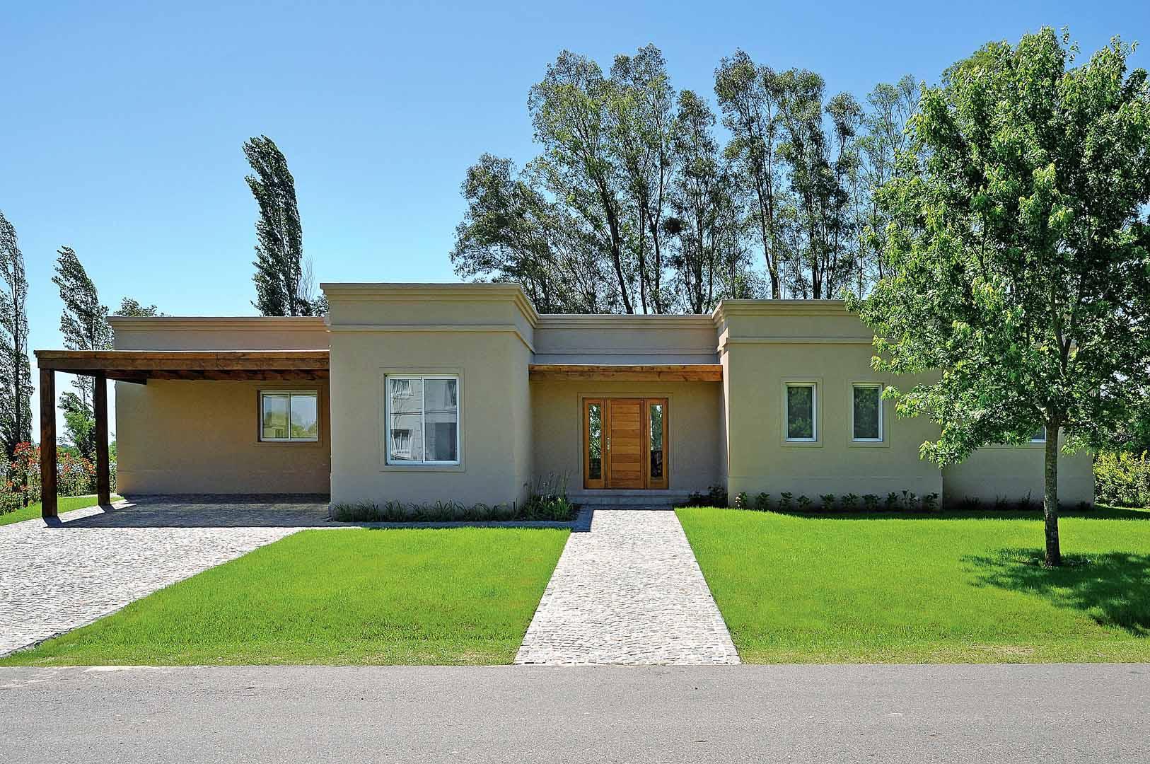 Fernando mart nez nespral casa estilo campo argentino for Casa estilo campo moderno