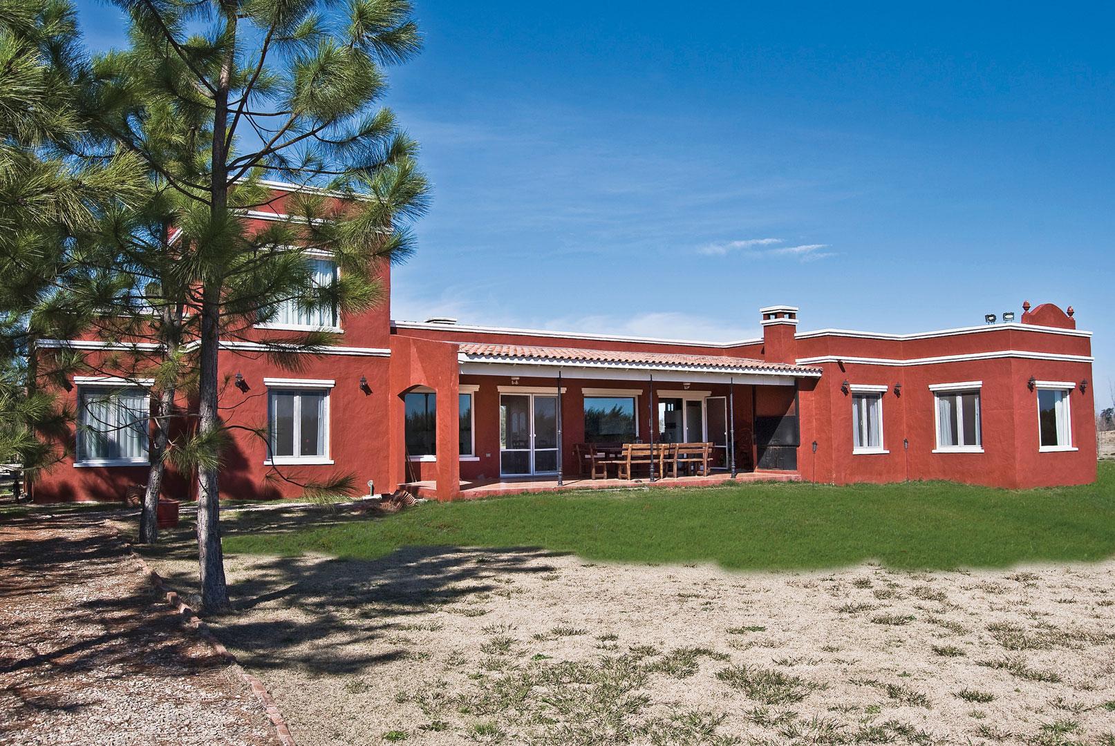 Casa de campo argentino portal de arquitectos for Portal de arquitectos casa de campo