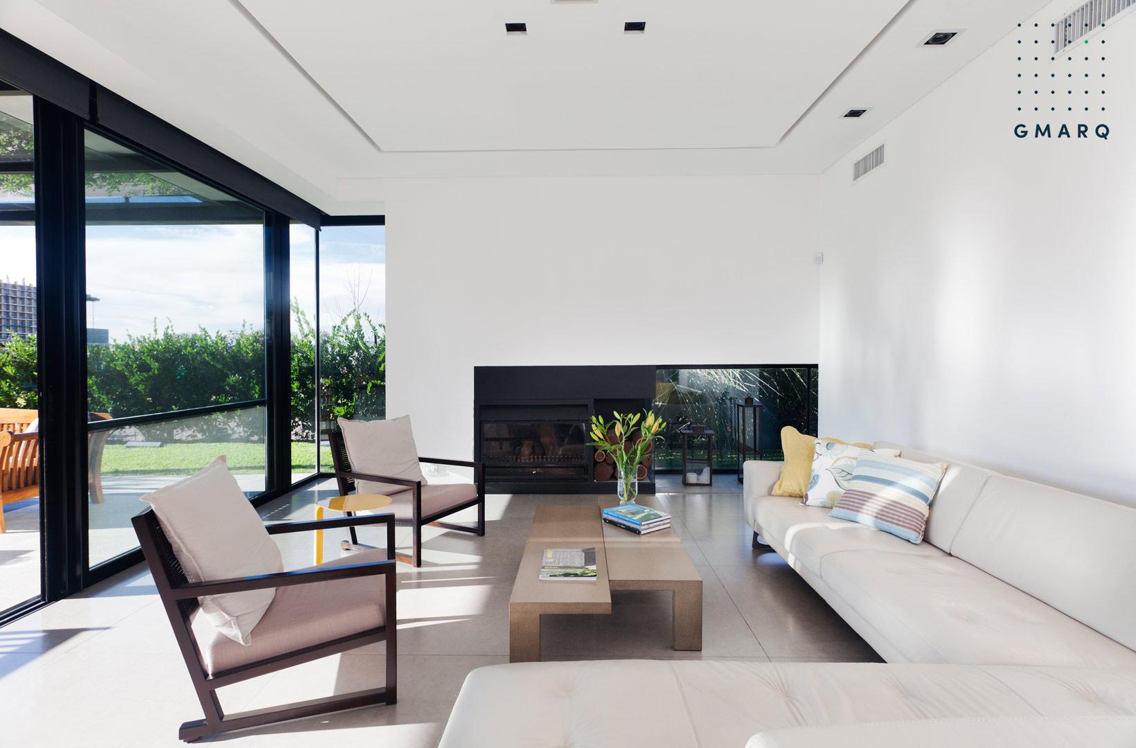 Estudio gmarq casa a estilo racionalista portal de - Estudio de arquitectos ...