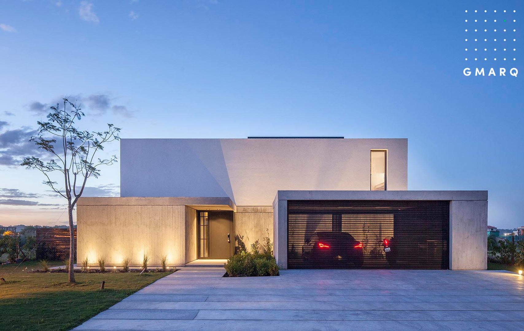 Estudio gmarq casa n estilo racionalista portal de - Estudio 3 arquitectos ...