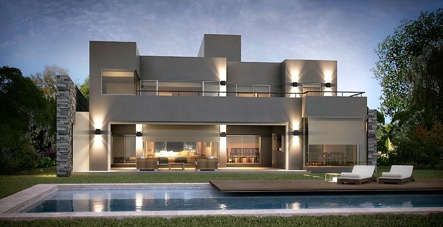 Casa con estilo decorar la casa el estilo espanol with for Casas estilo moderno