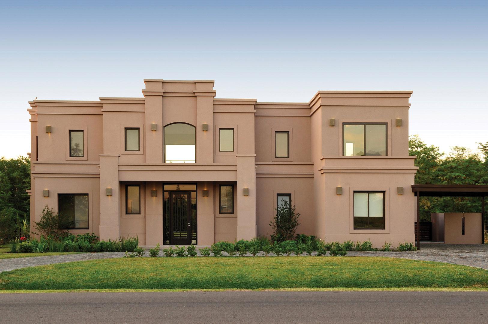 Marcela parrado arquitectura casa estilo actual portal for Casa estilo campo moderno