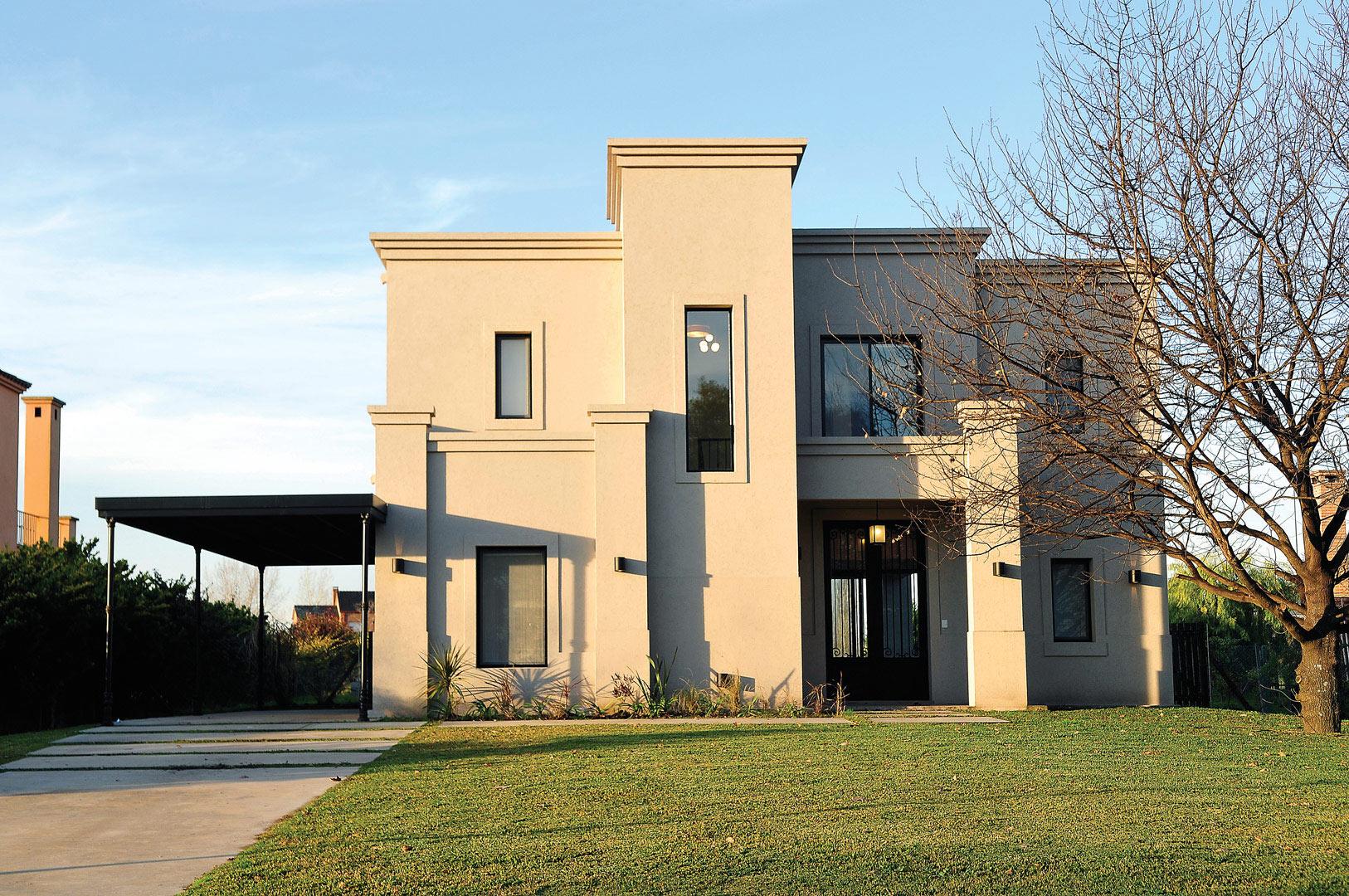 Marcela parrado arquitectura casa estilo actual - Fachadas arquitectura ...