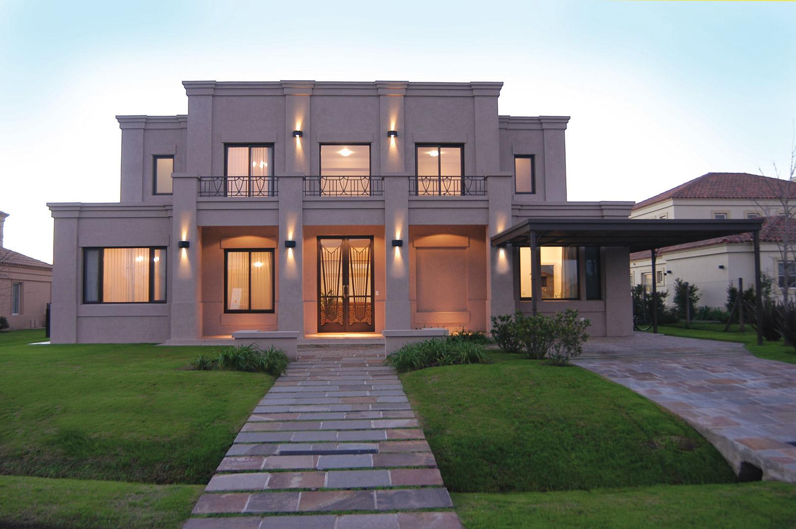 Marcela parrado arquitectura estilo actual portal de for Casa de arquitectos