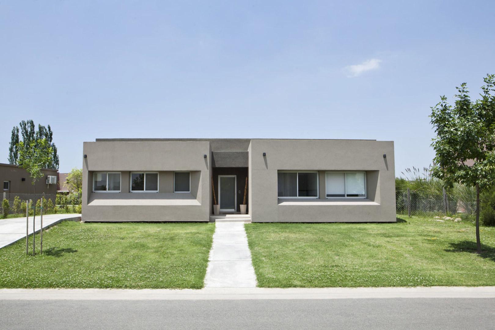 Mid arquitectura casa estilo actual racionalista for Arquitectura racionalista