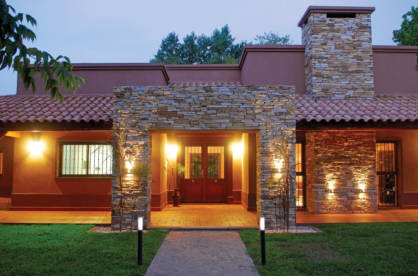 perretta ocampo arquitectura casa estilo campo moderno