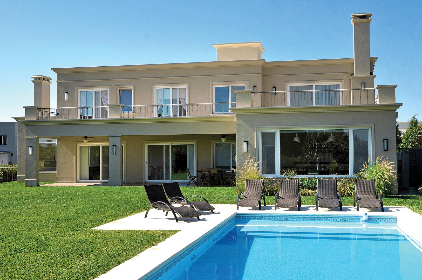 Estilos de casas modernas vidal bianchi casa estilo cl for Estilos de casas modernas