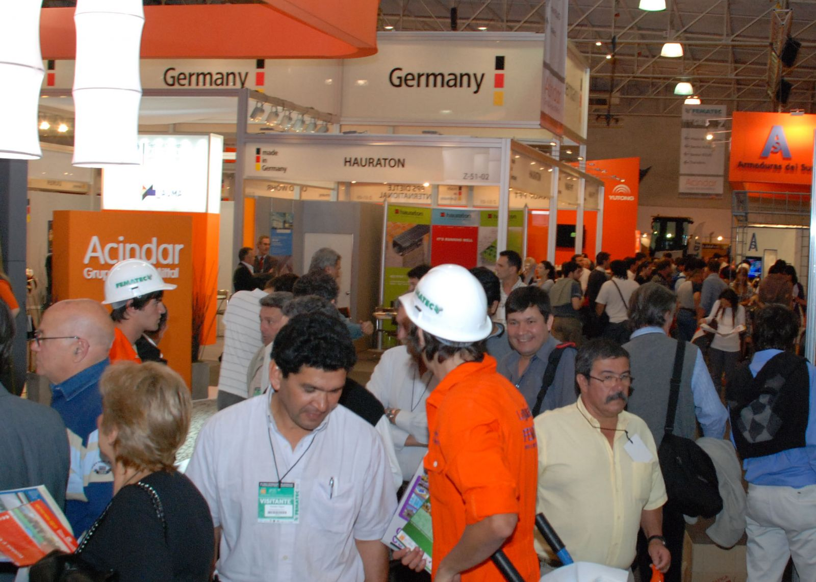 Stands de FEMATEC